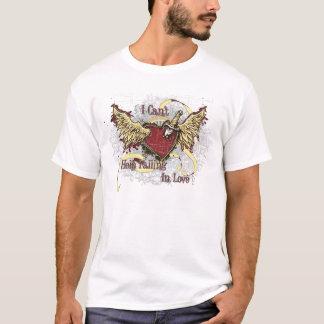 Falling In Love Stabbed Heart T-Shirt