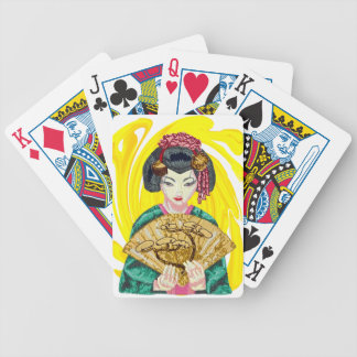 Falling in Love with the Geisha Girl Bicycle Playing Cards