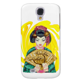 Falling in Love with the Geisha Girl Galaxy S4 Covers