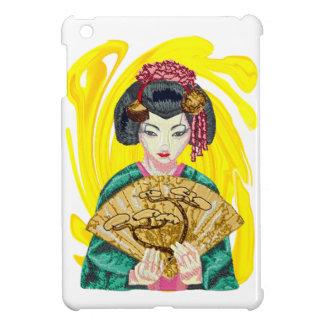 Falling in Love with the Geisha Girl iPad Mini Case