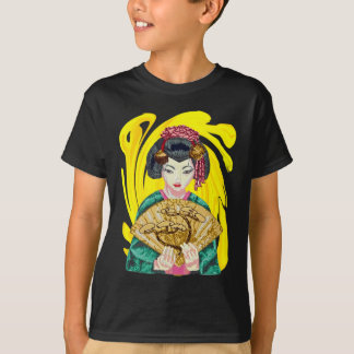 Falling in Love with the Geisha Girl T-Shirt