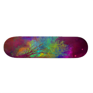 Falling into Space Skateboard Deck