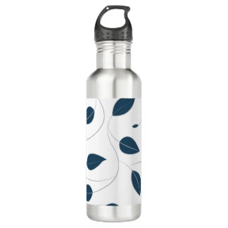 Falling leaves 710 ml water bottle
