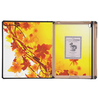 Falling Leaves iPad Cases