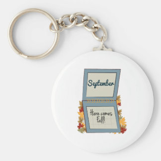 Falling Leaves Keychains