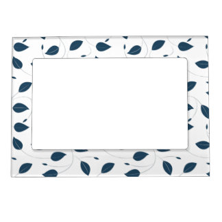 Falling leaves magnetic picture frame