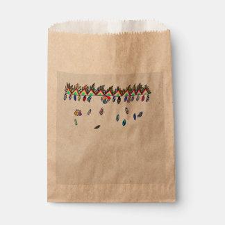 falling leavescrafts bag favour bags