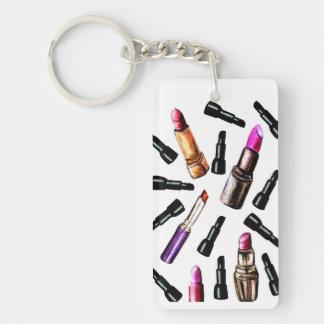 Falling Lipstick Key chain