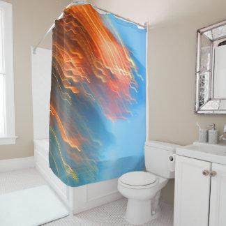 Falling Lites Shower Curtain
