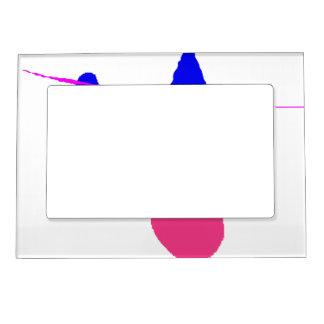 Falling Magnetic Frame