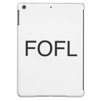 falling on floor laughing.ai iPad air case