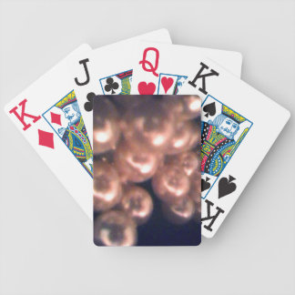 Falling Pearls Playing Cards