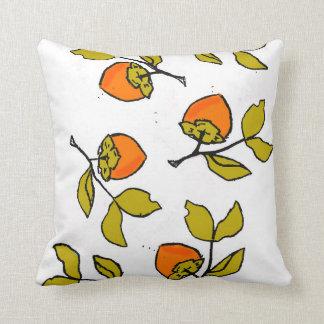 Falling Persimmons Cushion