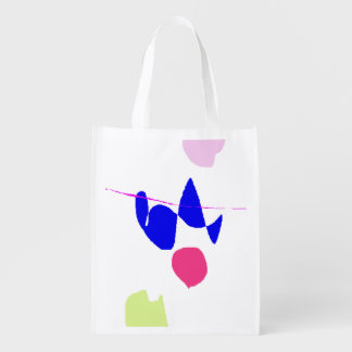 Falling Reusable Grocery Bag