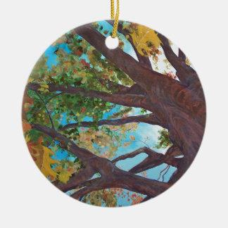 Falling Round Ceramic Decoration