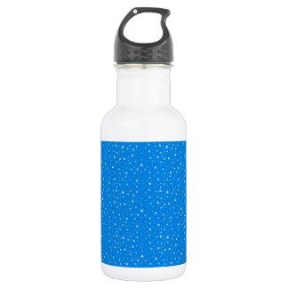 FALLING SNOW (a snowflake design) ~ 532 Ml Water Bottle