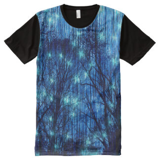 """Falling Stars"" All-Over Print T-Shirt"