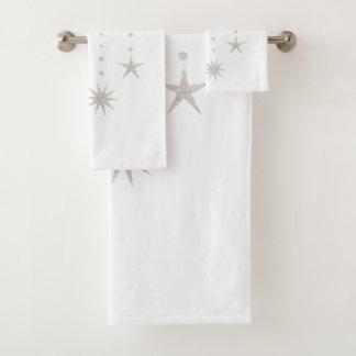Falling Stars Bath Towel Set