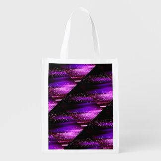 Falling Stars Reusable Grocery Bag