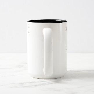 Falling Stars Two-Tone Coffee Mug