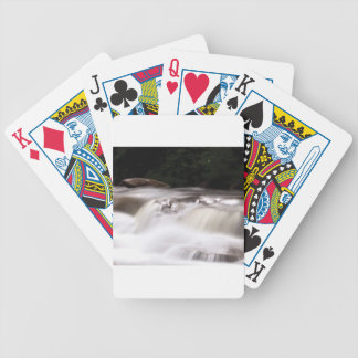 falling water flow bicycle playing cards