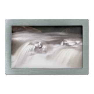 falling water flow rectangular belt buckle