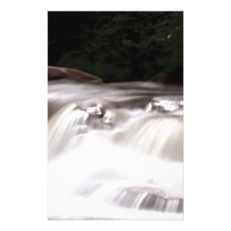 falling water flow stationery