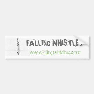 Falling Whistles Bumper Sticker