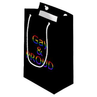 Fallln Gay and Proud Small Gift Bag