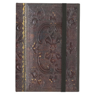 Falln Ancient Leather Book Case For iPad Air
