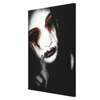 Falln Angel of Loss Canvas Print