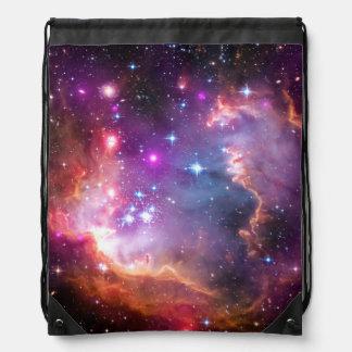Falln Angelic Galaxy Drawstring Bag