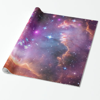 Falln Angelic Galaxy Wrapping Paper