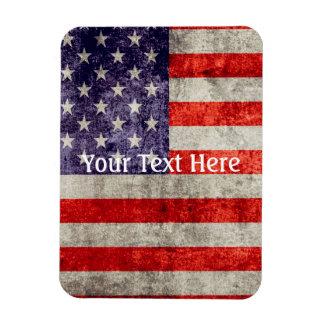 Falln Antique American Flag Magnet