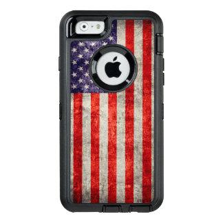 Falln Antique American Flag OtterBox iPhone 6/6s Case