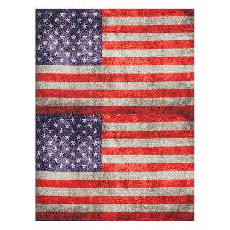 Falln Antique American Flag Tablecloth
