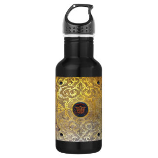 Falln Antique Golden Swirls 532 Ml Water Bottle
