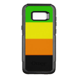 Falln Aromantic Pride Flag OtterBox Commuter Samsung Galaxy S8+ Case
