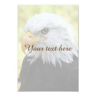 Falln Bald Eagle Liberty 9 Cm X 13 Cm Invitation Card