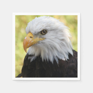 Falln Bald Eagle Liberty Disposable Napkin