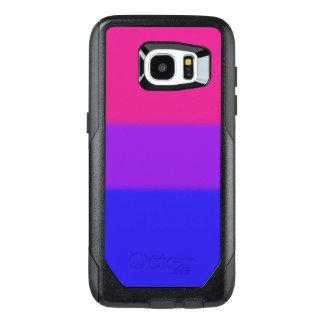 Falln Bisexual Pride Flag OtterBox Samsung Galaxy S7 Edge Case