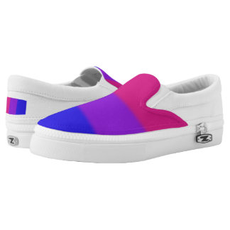 Falln Bisexual Pride Flag Slip On Shoes