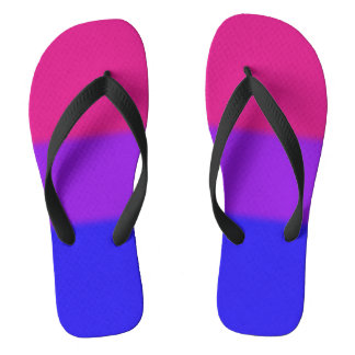 Falln Bisexual Pride Flag Thongs