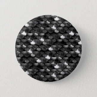 Falln Black and White Scales 6 Cm Round Badge