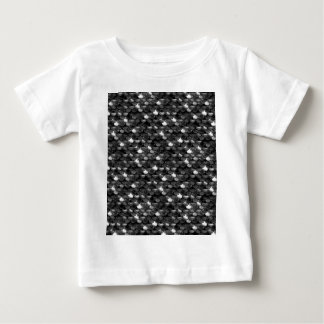 Falln Black and White Scales Baby T-Shirt