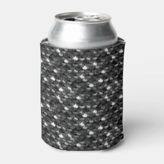 Falln Black and White Scales Can Cooler