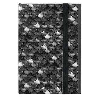 Falln Black and White Scales Case For iPad Mini