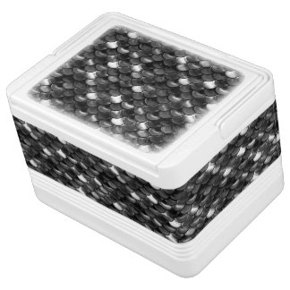 Falln Black and White Scales Cooler