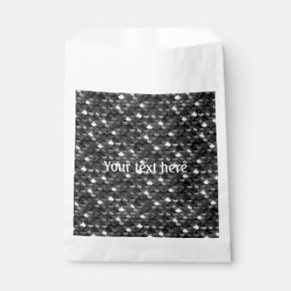Falln Black and White Scales Favour Bag
