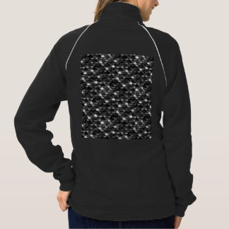 Falln Black and White Scales Jacket